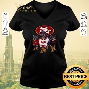Hot Rottweiler dogs San Francisco 49ers shirt sweater