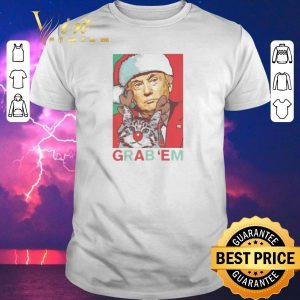 Hot Trump cat Grab 'Em Holiday shirt sweater