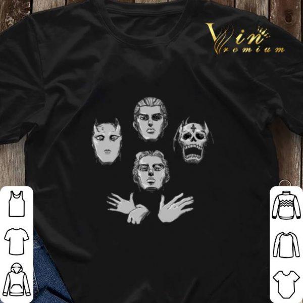 JoJo's bizarre adventure Queen Bohemian Rhapsody shirt sweater