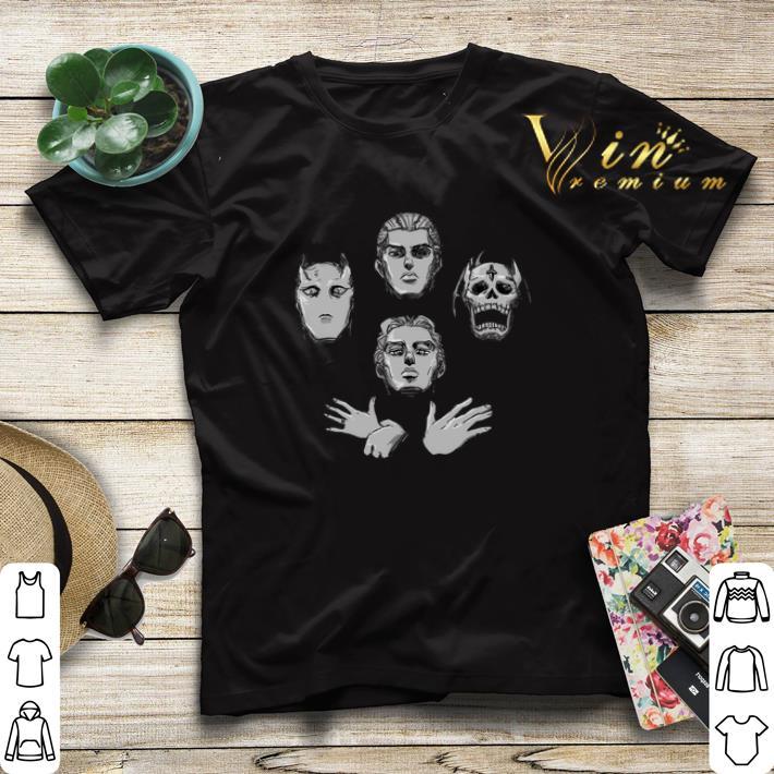 JoJo s bizarre adventure Queen Bohemian Rhapsody shirt sweater 4 - JoJo's bizarre adventure Queen Bohemian Rhapsody shirt sweater