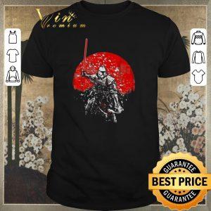 Nice Star Wars Samurai Mandalorian shirt