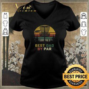 Nice Vintage Disc golf Best Dad By Par shirt