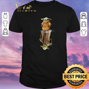 Official Baby Yoda water mirror reflection Master Yoda shirt sweater