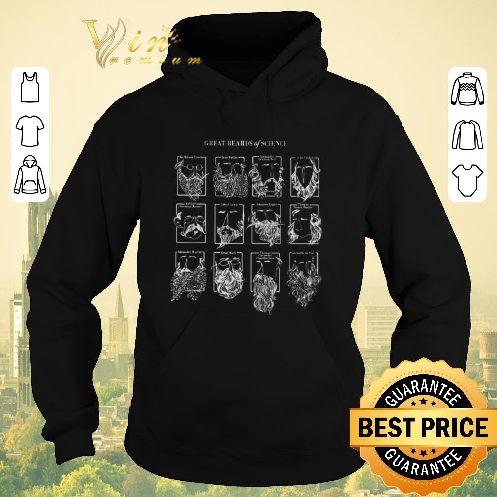 Official Great beards of science shirt sweater 4 - Official Great beards of science shirt sweater