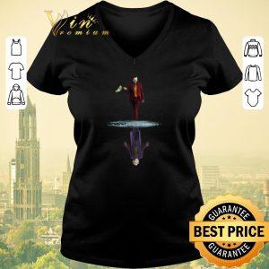 Official Joker Joaquin Phoenix Water Mirror Reflection Joker Heath Ledger shirt sweater