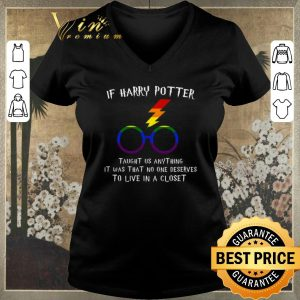 Official LGBT If Harry Potter taught us anything it was that no one shirt sweater