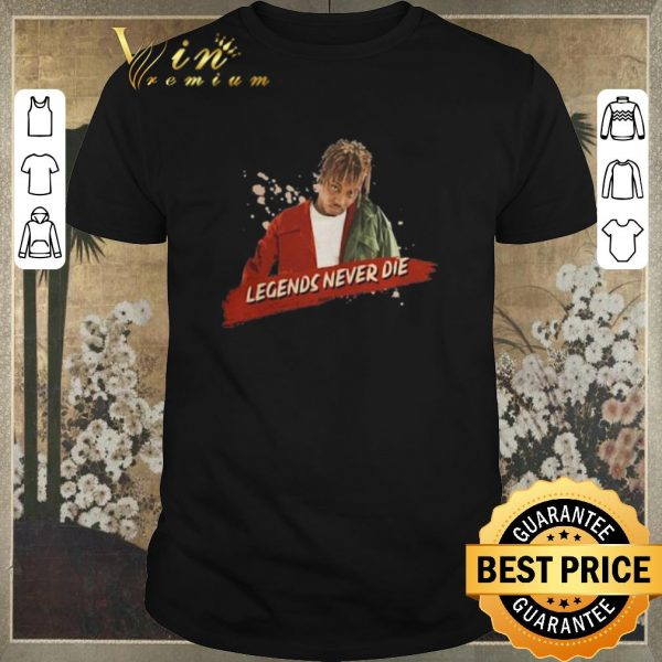 Official Rip Juice Wrld legends never die shirt sweater