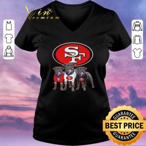 Official San Francisco 49ers Olde English Bulldogge Renascence shirt sweater