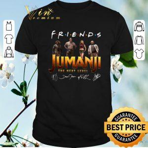 Official Signatures Friends Jumanji The Next Level shirt