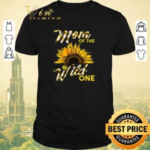 Official Sunflower mom of the wild one shirt sweater