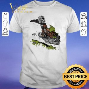 Official The Mandalorian Vault Mando and Child Baby Yoda shirt sweater