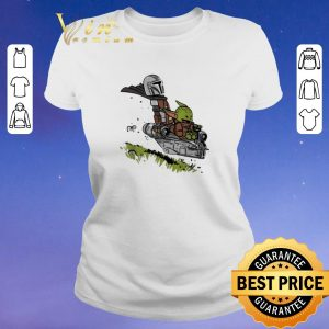 Official The Mandalorian Vault Mando and Child Baby Yoda shirt sweater