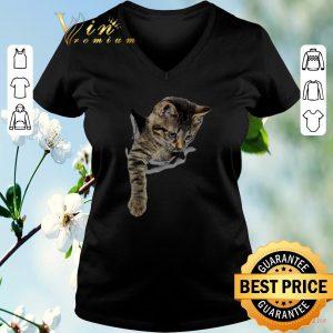 Original Cat torn paper shirt sweater