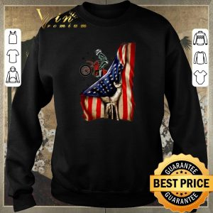 Original Fox Racing Mountain Bike Your Name American Flag shirt sweater 2