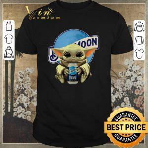 Original Star Wars Baby Yoda hug Blue Moon shirt