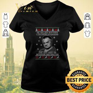 Original Ugly Christmas He Killed Sixteen Czechoslovakians The Guy Was An Interior Decorator sweater