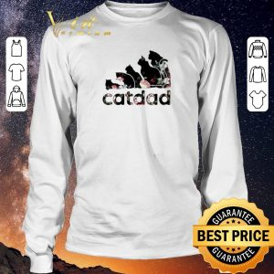 Premium Adidas catdad flower shirt sweater 2