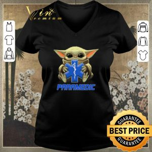 Premium Baby Yoda hug Paramedic Medical Star Wars Mandalorian shirt sweater