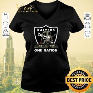 Premium Darth Vader Oakland Raiders One Nation Star Wars shirt sweater