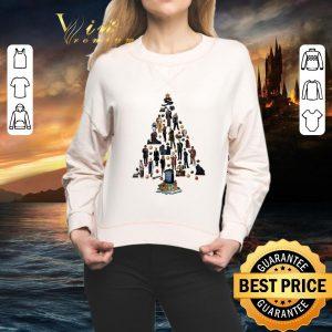 Premium Doctor Who Christmas tree shirt