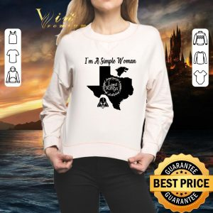 Premium I'm a simple woman Texas Game of Thrones Lord of the Rings Darth Vader shirt