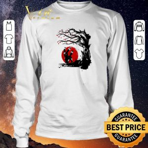 Premium Umbreon Pokemon Dark type under the sun cherry blossom shirt sweater 2