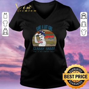 Premium Vintage Save a lot girl classy sassy and a bit smart assy shirt