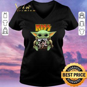Pretty Baby Yoda hug Kiss Star Wars Mandalorian shirt sweater