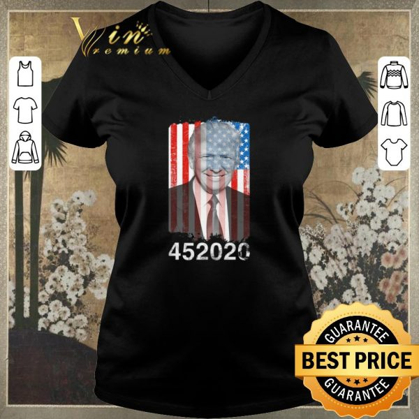Pretty Donald Trump American flag USA 452020 shirt sweater