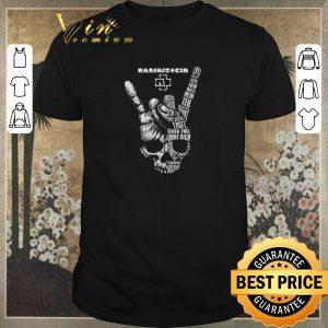 Pretty Rammstein rock sign skull shirt sweater
