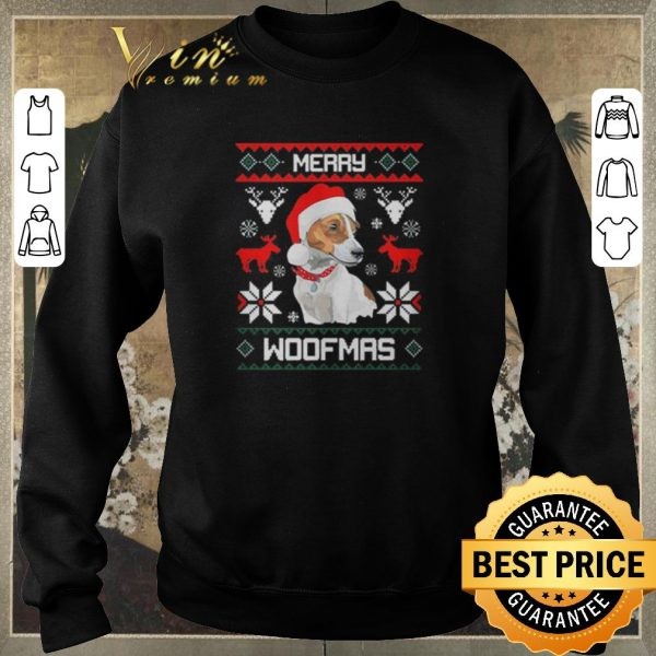 Pretty Ugly Christmas Merry Woofmas sweater