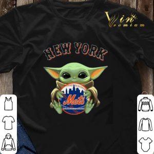 Star Wars Baby Yoda Hug New York Mets shirt 2