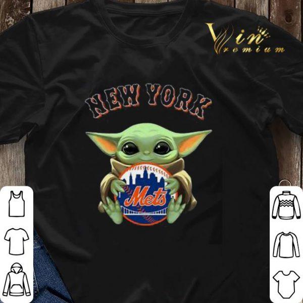 Star Wars Baby Yoda Hug New York Mets shirt