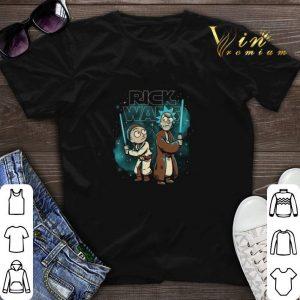 Star Wars Rick and Morty Rick Wars shirt