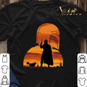 Sunset The Mandalorian Gunfighter Has Landed Star Wars shirt 2
