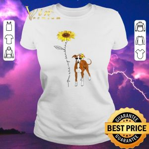 Top Italian Greyhound You Are My Sunshine Sunflower shirt sweater