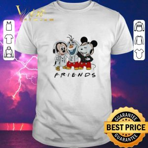 Top Mickey Olaf and Snoopy Friends shirt sweater