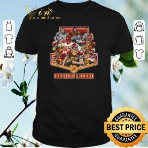 Top Signatures Minnesota Golden Gophers legend shirt