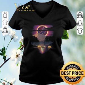 Top Sunset Grateful Dead Logo Camping bear shirt
