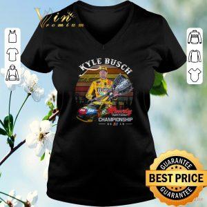 Top Sunset Kyle Busch signature Rowdy Nation Championship 2019 shirt