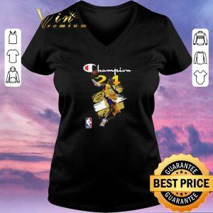 Top signature nba los angeles lakers kobe bryant champion shirt