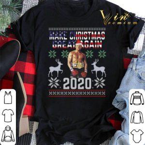 Trump boxing make Christmas great again 2020 ugly shirt sweater