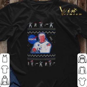 Ugly Christmas Donald Trump Maga Nasa sweater 2