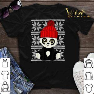 Ugly Christmas Panda Santa shirt