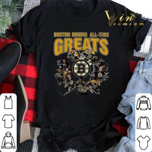 signatures Boston Bruins all time greats legend shirt