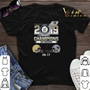 2019 Liberty Bowl Champions Navy Midshipmen 20 17 Kansas State shirt sweater