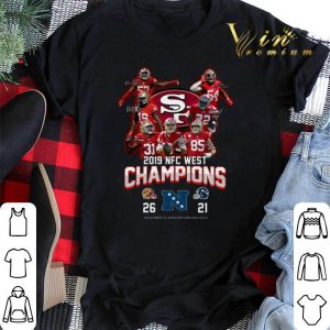 2019 NFC West Champions San Francisco 49ers vs Seattle Seahawks shirt sweater