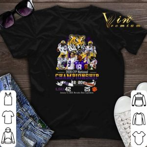 2020 CFP National Championship LSU Tigers vs Clemson Tigers shirt sweater