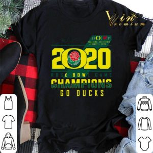 2020 Rose Bowl Game Champions Oregon Ducks vs Wisconsin Badgers shirt sweater