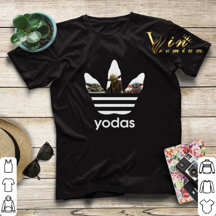 Adidas Baby Yoda Master Star War shirt sweater 4 - Adidas Baby Yoda Master Star War shirt sweater